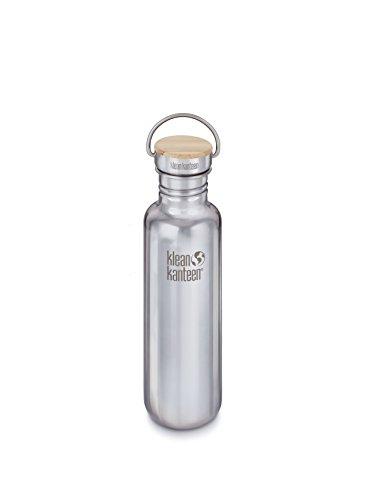 #Klean Kanteen Edelstahlflasche Flasche Reflect Poliert, Silber, 0.8 Liter, 100585#