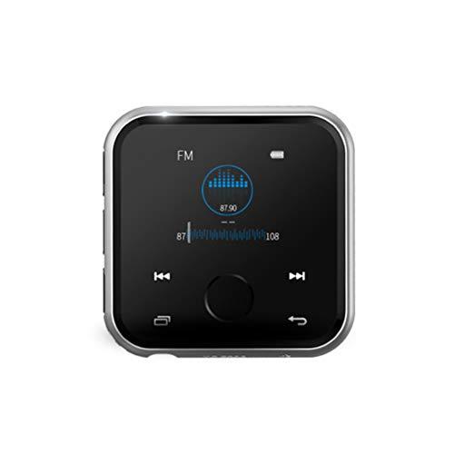 MP3 Musik Player mit Clip SSTARY,mit Bluetooth-HiFi-Sound,4 GB / 8 GB-Speicher, TF-Karte, Multifunktions-Video, Foto-Viewer und UKW-Radio-Black 8G Digital Pocket Viewer