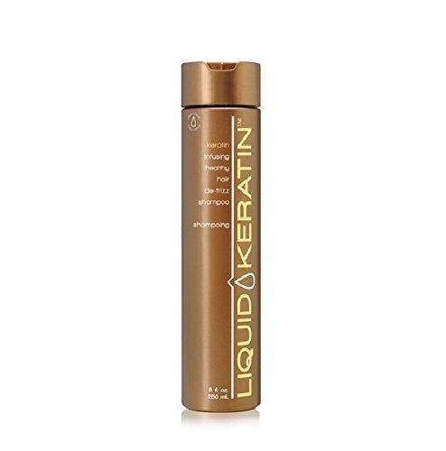 Liquid Keratin Kératine Infusion Santé Cheveux de shampooing frisottis