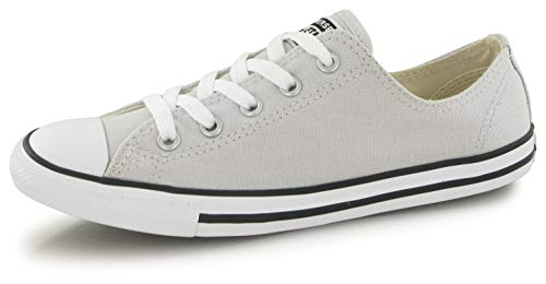 Converse Chuck Taylor all Star Dainty Donna Mouse Grigio Ox Sneaker-UK 6 / EU 40