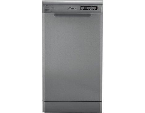 Candy CDP 2D1047X-47 lave-vaisselle Autonome 10 places A++ - Lave-vaisselles (Autonome, Acier inoxydable, Compact (45 cm), Acier inoxydable, 10 places, 47 dB)