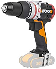 WORX 20V Brushless Active Impact Drill, 60Nm, bare tool, color boxno battery and charger included, WX354.9