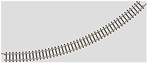 Märklin Curved Track - partes y accesorios de juguetes ferroviarios (Rastrear, Märklin, Negro)