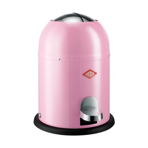 Wesco 180 212-26 Single Master Abfallsammler, pink