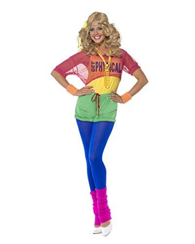 Horror-Shop 80er Jahre Aerobic Kostüm L ()