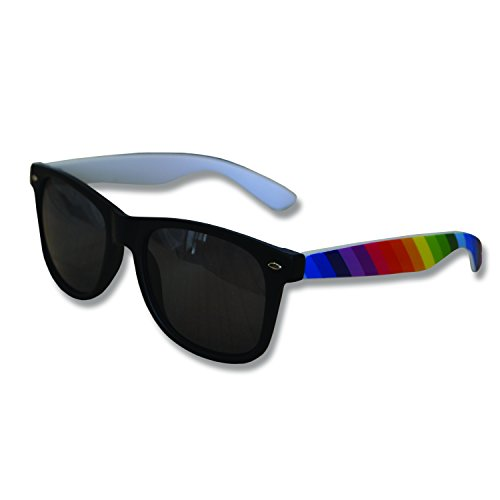 Colourful Gay Pride Drifter Style Sunglasses (10 Pairs) (WSPSG4)