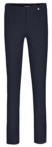 Robell -  Pantaloni  - straight - Basic - Donna Multicoloured - Navy