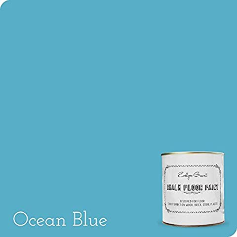 Evelyn Grant Chalk Floor Paint 2.5L (Ocean Blue)
