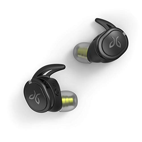 Jaybird Run XT - Drahtloser Kopfhörer (wasserdichtes, aerodynamisches Design, kompatibel mit Siri und Google Assistant, wiederaufladbarer Akku) schwarz / flash