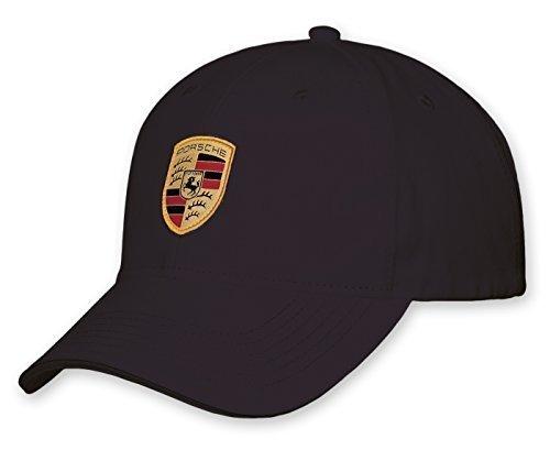 Preisvergleich Produktbild Porsche Cap Mütze schwarz mit Wappen