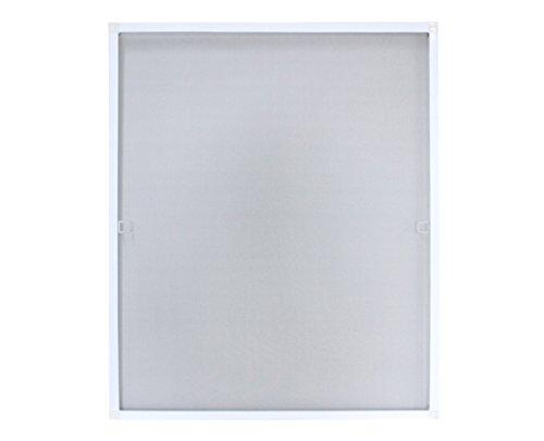 Fliegengitter mit Alu-Rahmen 120 x 140 cm Weiß
