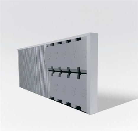 Elektro Heizkörper Paketset 4 Heizungen mit Standfüßen, Elektroflachheizungen, Elektroheizungen Schnatterer - 6