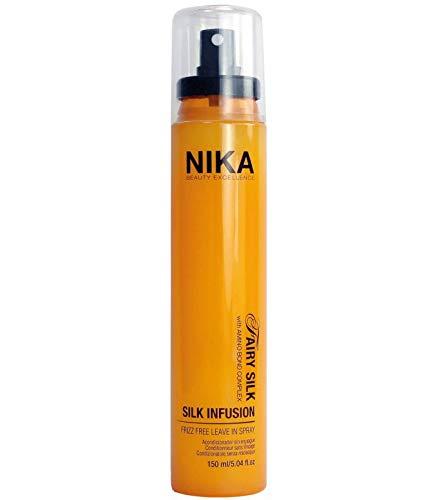 Infusion-behandlung (Nika Silk infusion Leave Spray 150 ml Behandlung Anti-Aging Spray ohne ausspülen für alle Haartypen 150 ml)