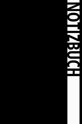 Persönliches Notizbuch : Klassisch Schwarz: Notizbuch | Journal | Format A5 | 120 gepunktete Seiten