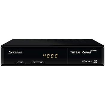 Strong Srt 7404 Decodeur Satellite Carte Tntsat Canal Plus Ready