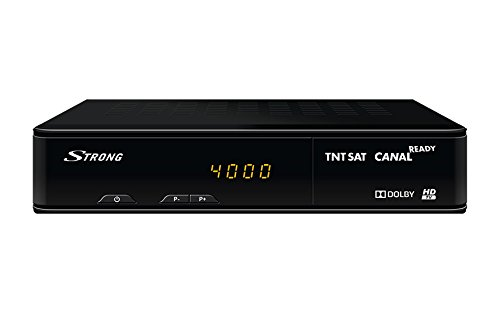 Strong SRT 7404 Satélite Negro tV set-top boxes - Reproductor/sintonizador...