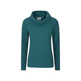 Mountain Warehouse Camber Womens Cowl Neck Fleece - Breathable Ladies Top, Brushed Inner Sweater, Antipill Pullover, Warm Sweatshirt - Best for Winter Walking, Travel 13