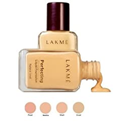 Lakme Perfecting Liquid Foundation - Marble, 27ml (Pack of 2)