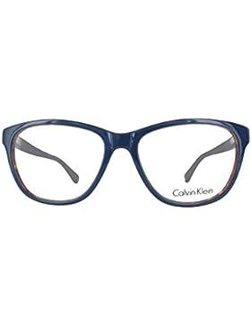 Calvin Klein Platinum - CK5841, Rechteckig, Acetat, Damenbrillen, LIGHT HAVANA WHITE(313), 54/16/135