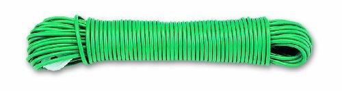 Chapuis FLP2V Polypropylen-Wäscheleine + Spanner – Durchmesser 2,6 mm – Länge 20 m – Grün