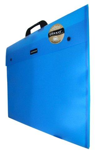Westfolio A2 Type G Expandable Folio Blue - Klarsichthülle A2