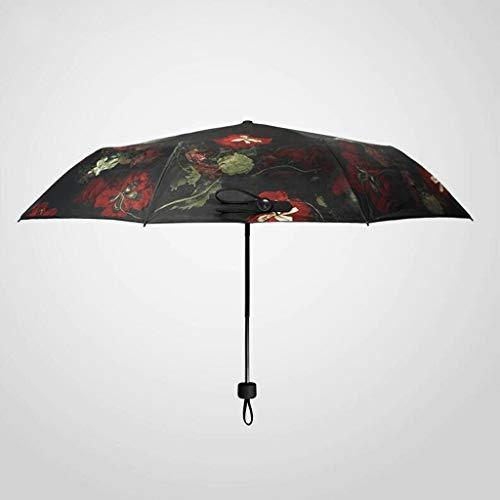 Hulday Gaolili Black Lemon Nuevo Sunny Umbrella Black