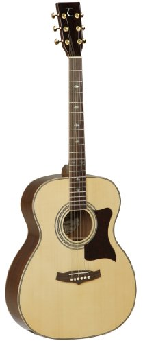 Tanglewood TW170AS - Guitarra acústica, acabado natural brillo