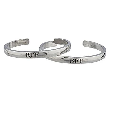 Lux Accessoires BFF Best Friends Forever Bracelets manchette.