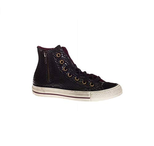 Converse All Star Hi Side Zip Suede Print [4,5 US - 37 IT] Uomo Donna Moda Neu Hi Side Zip