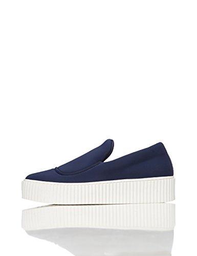 FIND Damen Sneaker, Blau (Blue), 37 EU