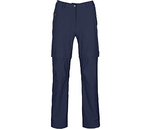 Bergson Damen Zip-Off Radhose BLACKBURN, peacoat blue [368], 36 - Damen