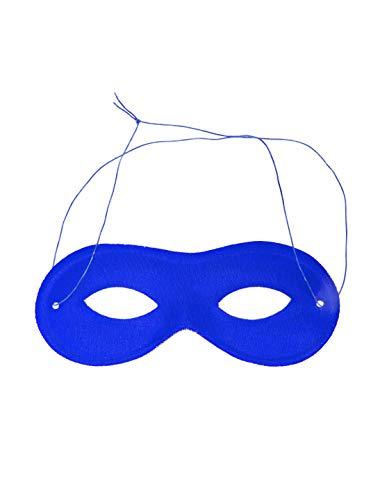 Ninja Turtle Kostüm Kopf - Maske mit Gummizug blau Keine