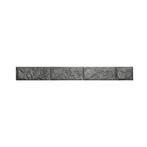 HBOS Selbstklebende Tapete Bordüre Aufkleber 3D Marmor Ziegel Textur Abnehmbare Wasserdichte Wandtattoo Dekoration für Wohnzimmer Bad Küche...