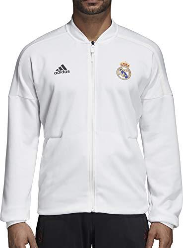 adidas Herren Real Madrid Anthem Jacke, core White, S