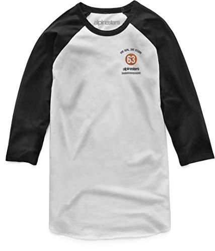 Alpinestars Prime Longsleeve Weiß/Schwarz M (Long Sleeve Alpinestars Shirt)