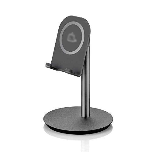 Kompakt-regale (LI-MING-TABLE L-H-X Mobile Desktop Lazy Bracket Einfache Tragbare Tablette Kleine Live-Halterung Uhr TV-kompaktes Aluminium-Regal Videobetthalterung Universal (Farbe : SCHWARZ))