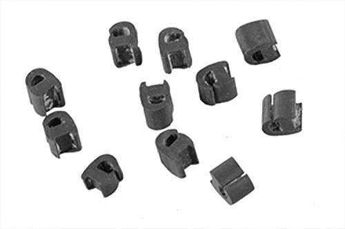 Casaricambi – Gummifüße für die Kochfeldabdeckung von Geräten des Herstellers Electrolux Zanussi Rex, Set bestehend aus 12 Stück, Art.-Nr.: 50247058006