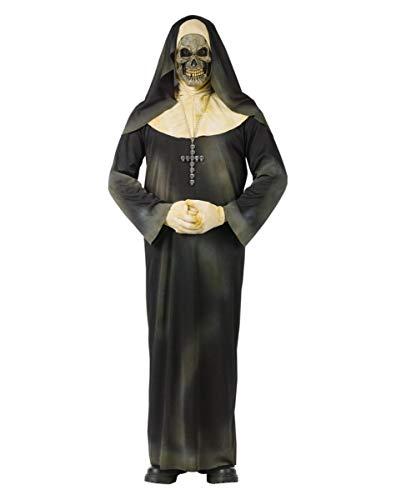 Finstere Zombie Nonne Halloween-Kostüm