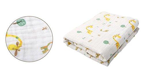 Baby Woolen Decken Kinder Wickeln Klimatisierte Zimmer Babydecken Baumwolle Gaze Kinder Decken Decken,C-47.2*63.0in