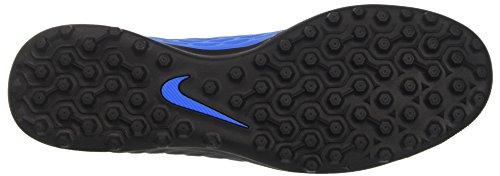 Nike Hypervenomx Phade Iii Tf, Scarpe Per Allenamento Calcio Uomo Multicolore (Black/Volt/Photo Blue)