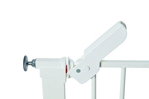 Baby Dan Premier TÜV / GS geprüftes Türschutzgitter / Treppenschutzgitter zum Einklemmen, 99 – 119.3 cm, Weiß – hergestellt in Dänemark - 3