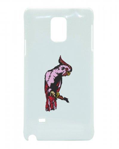 Smartphone Case Pappagallo Sul Ramo in Pink Rosa Animale domestico Uccello per APPLE IPHONE 4/4S, 5/5S, 5C, 6/6S, 7& Samsung Galaxy S4, S5, S6, S6Edge, S7, S7Edge Huawei HTC-Dive