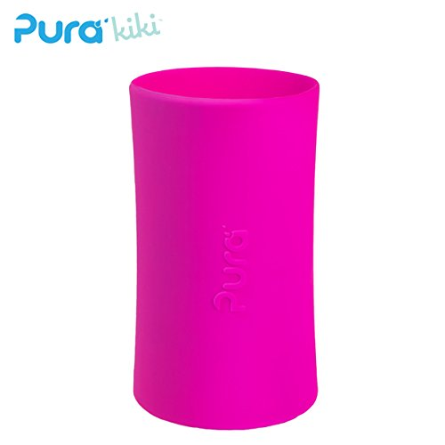 Pura Kiki - Silikonüberzug (Sleeve) - 250ml/325ml Pura Farbe Pink