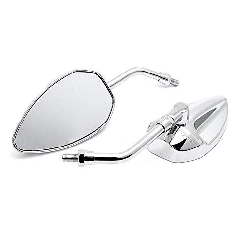 Custom Spiegel Conehead chrom mit Zulassung M10 Motorrad