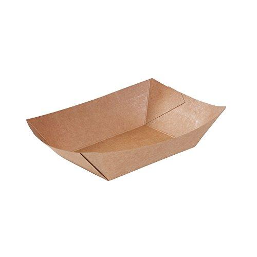 BIOZOYG Cuenco Tipo Barco cartón Recubrimiento orgánico