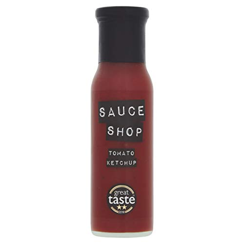 Sauce Shop Tomato Ketchup, Perfect for Chips, Burgers and Pizza (255g)