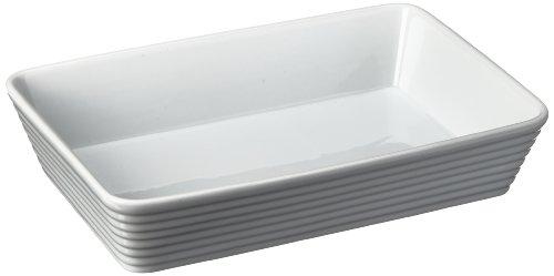 Küchenprofi 750118230 Auflaufform, rechteckig 30 cm aus Hartporzellan
