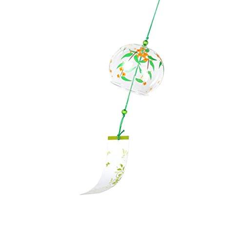 Einzigartige Windspiel Glas Glocke Fenster Garten Dekoration Ornament Japanse Style - 03 -
