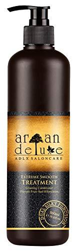 Argan Deluxe Haarkur für extra Geschmeidigkeit in Friseur-Qualität 500 ml - Haarmaske für seidig-weiches Haar