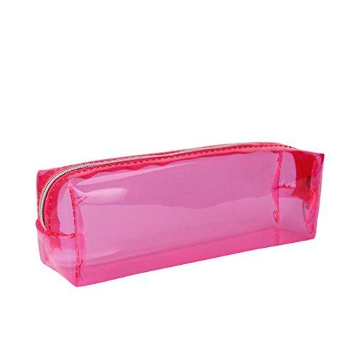 ouneedr-jelly-trousse-zippe-transparant-pochette-ecolier-185cm-x-6cm-x-45cm-rose-vif
